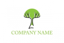 Simple Tree Logo