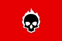 Skull On Fire Logo