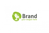 Frog On Leaf Logo