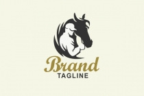 Male Horse Owner Logo