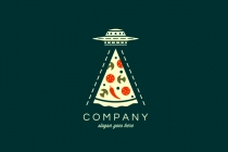 Ufo Pizza Logo