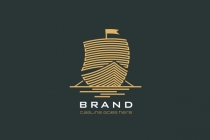 Ancient Ship Logo