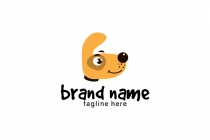 Fun Cartoon Dog Logo