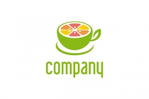 Fresh Cup Fruit Logo
