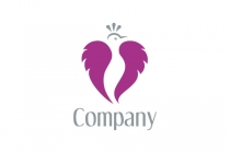 Heart Bird Logo
