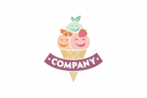 Happy Ice Cream Logo