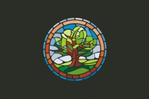 Mosaic Tree Logo