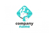 Cute Pet Store Logo