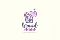 Pretty Elephant Logo