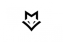 Letter Mv Fox Logo