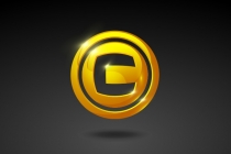Golden Coin Logo