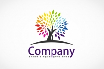 Colorfull Tree Logo