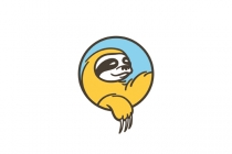 Lazy Sloth Logo