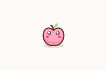 Cute Peach Logo
