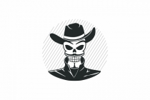 Skull With Hat Logo