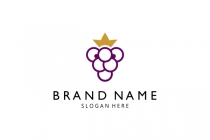 Kid Lion Grape Logo