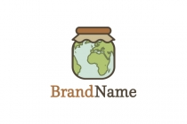 Planet In A Jar Logo