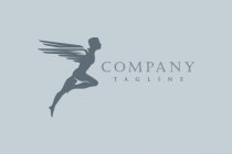 Epic Winged Man Logo