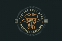 Cow Steak Business Logo