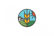 Grain Farm Logo