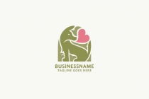 Lovely Dog Logo