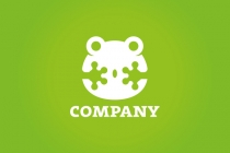 Surprised Frog Logo