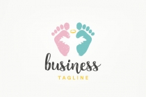 Angel Baby Logo