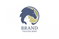 Horse And Woman Logo