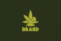 Cannabis Rabbit Logo