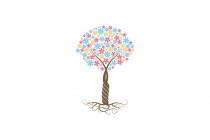 Flower Tree Logo