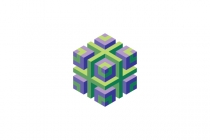 3d Abstract Cubic...