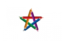 Colorful Pencil Star...