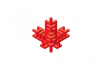 Stylized Maple Leaf...