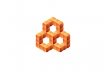 Stylized Honeycomb...