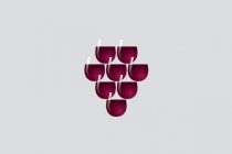 Stylized Wine Glass...