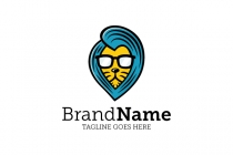Handsome Lion Logo