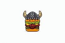 Viking Burger Logo