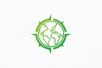 Earth Compass Logo