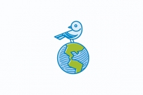 Earth Bird Logo