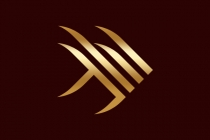Gold Angelfish Logo