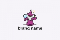 Old Wizard Logo