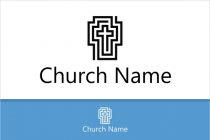 Black Church Logo
