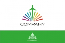 Colorful Travel Logo