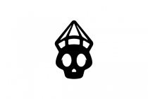 Diamond Skull Logo
