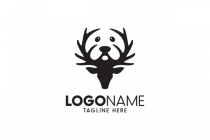 Dog Deer Logo