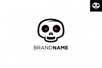 Skull Cartoon Logo