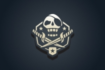 Pirate Skull Logo