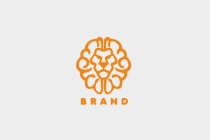 Brain Lion Logo