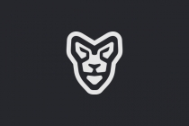 Lion Face Logo