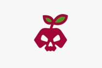 Apple Skull Logo